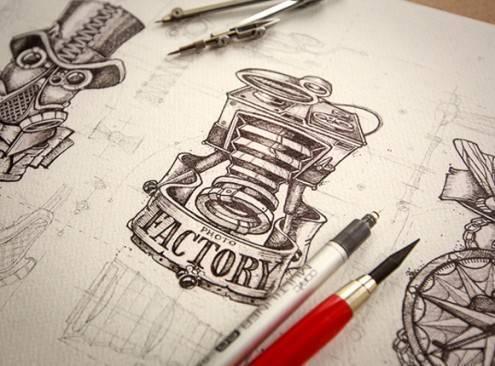 19-logo-sketches