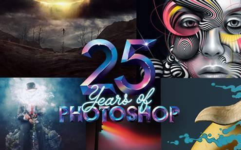Adobe公司庆祝Photoshop发售25周年