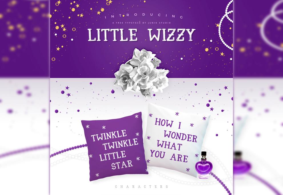 Little Wizzy: Fairy-like Sans Typeface